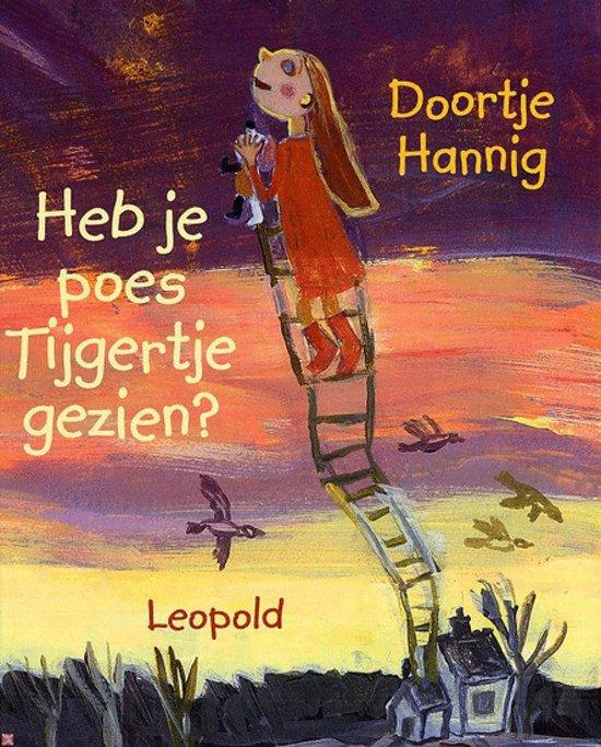 Cover van het boek 'Heb je poes Tijgertje gezien'