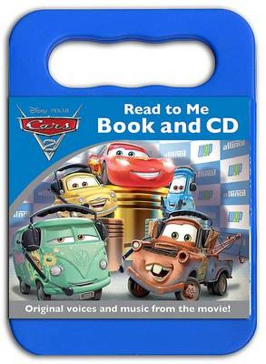 Disney Cars 2 Read to Me Book & CD