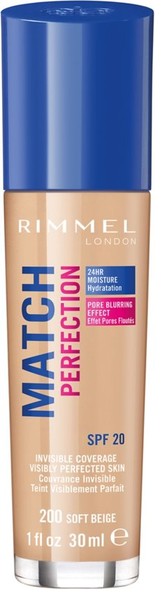 Rimmel London Match Perfection Foundation - Soft Beige
