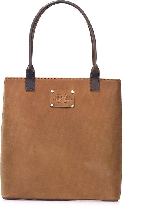 O My Bag Shoppers Posh Stacey Midi Bruin