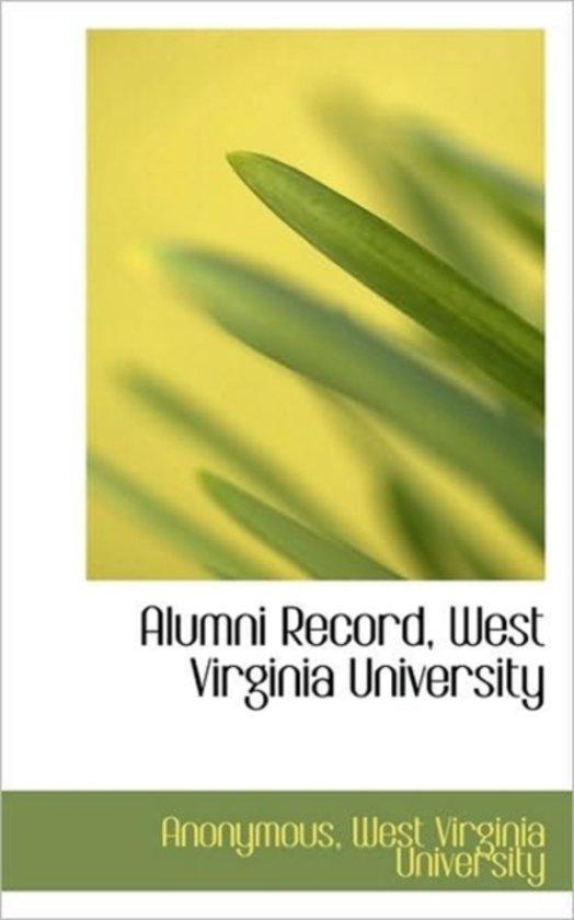 Alumni Record, West Virginia University