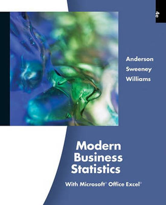 anderson and sweeney williams multiple choice questions Multiple choice questions 3 matching science quantitative approaches to decision making revised by anderson david r sweeney dennis j williams.
