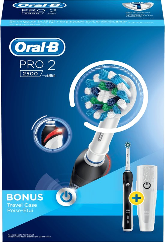 Oral-B Pro 2 2500 CrossAction - Elektrische Tandenborstel