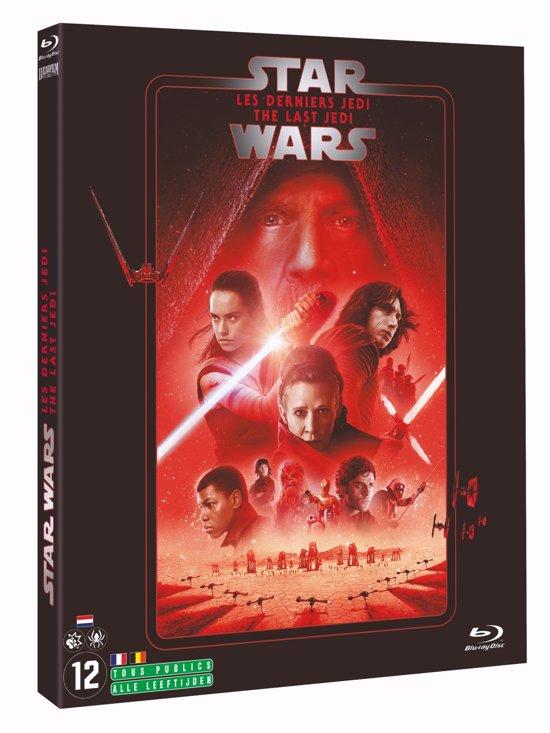 DVD cover van Star Wars Episode VIII: The Last Jedi (Blu-ray)
