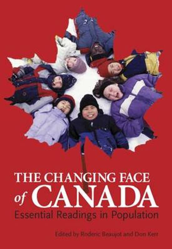 The Changing Face of Canada