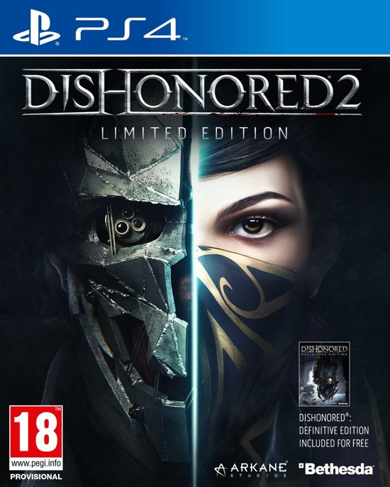 Dishonored 2 - Limited Edition (Incl. Dishonored: Definitive Edition) - PS4