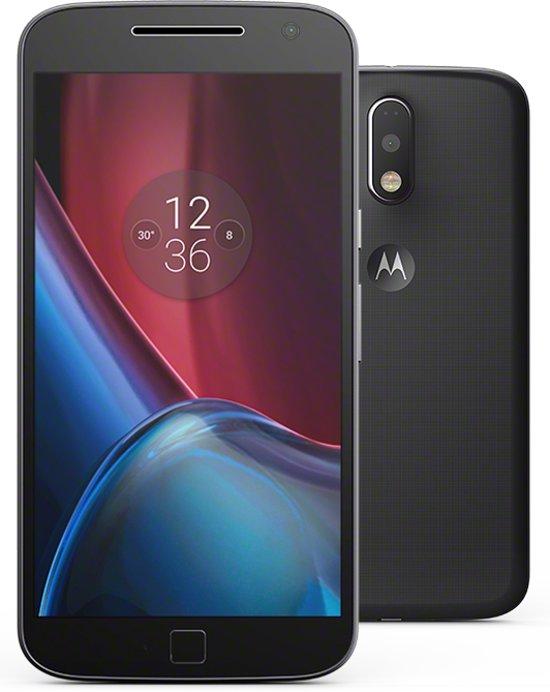 Motorola Moto G4 Plus - Dual Sim - 16 GB - Zwart in Ool