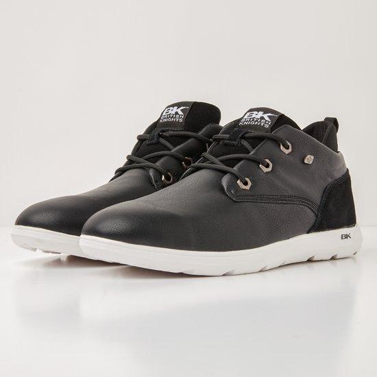 British Sneakers Black Calix Heren Hoog Synthetisch Knights 46 tw7Oxw