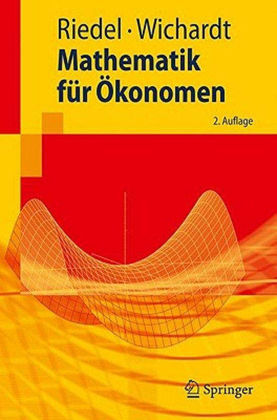 book-image-Mathematik Fur Okonomen