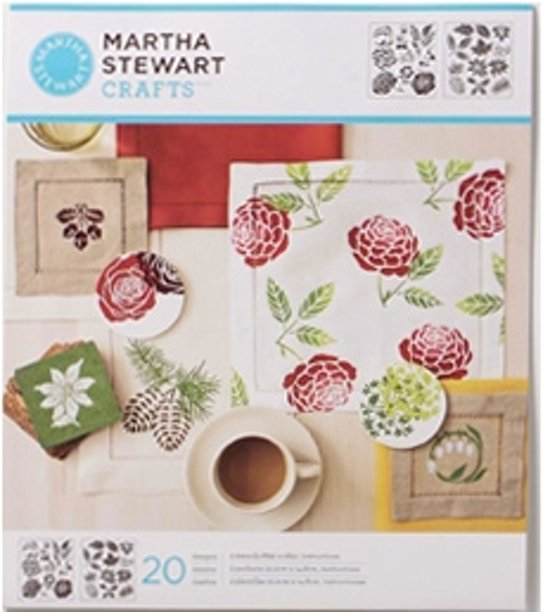 Martha Stewart Medium Stencil Four Seasons