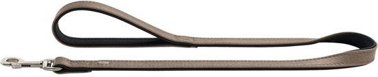 Hunter Looplijn Linum Grijs&Zwart 110x1.5 cm