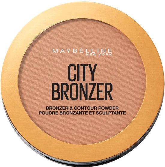 Maybelline Facestudio City Bronzer - 300 Deep Cool – Bronzer en Contouring Poeder
