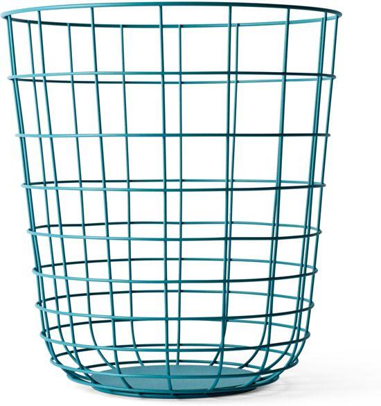 bol.com | Menu Wire Bin opbergmand blauw