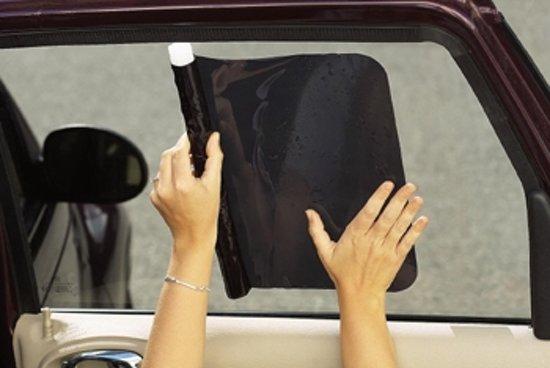 Diono Cool Shade - Set van 2 auto zonneschermen van zonnefolie voor zijruiten - Afmeting 45 x 33 cm