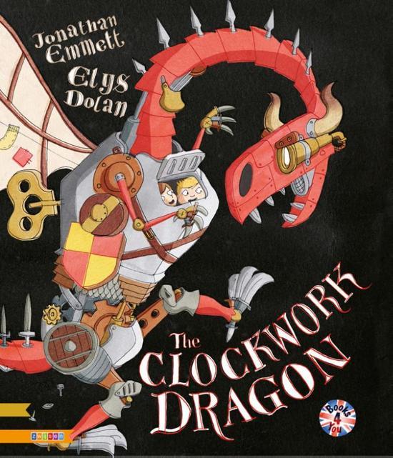 Boek cover The clockwork dragon van Jonathan Emmett (Hardcover)
