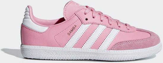 4034b3e5238 adidas Samba OG C Sneakers Kinderen - Light Pink/Ftwr White/Ftwr White