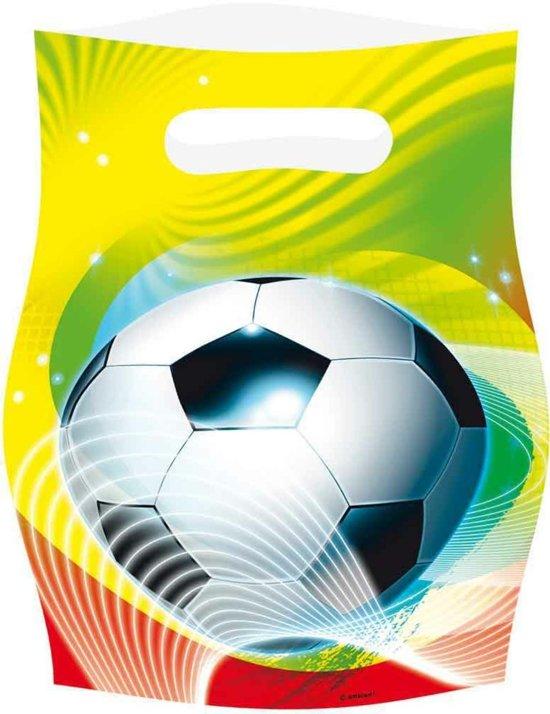 Voetbal Uitdeelzakjes, 6st.