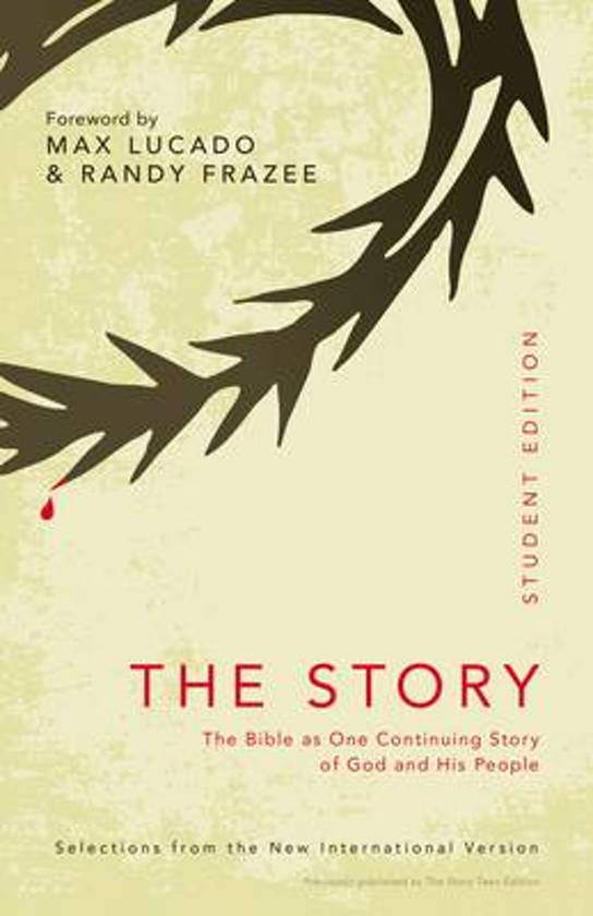 NIV The Story Student Edition, Paperback