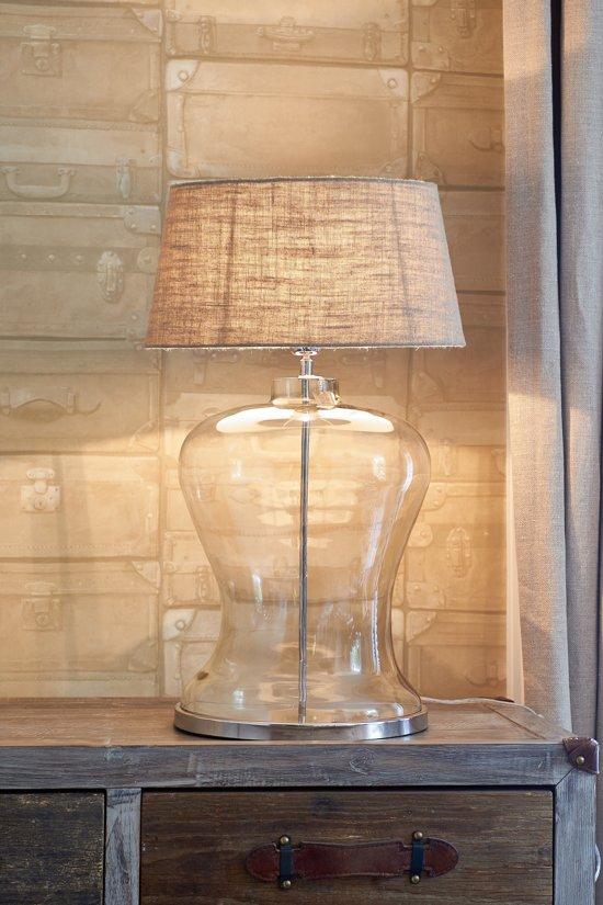 Riviera Maison - Kensington Hotel Lobby Lamp - Tafellamp zonder kap - Glas