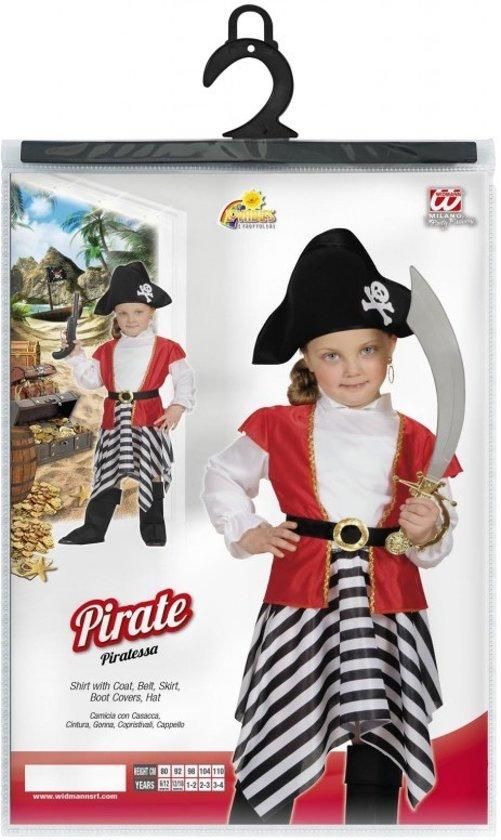 Piraten kostuum maat 98 - meisjes