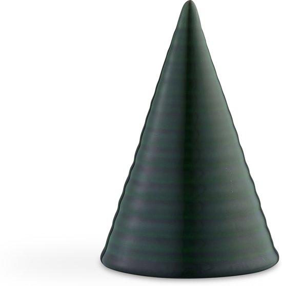 Kähler Design Glazed Cone - 15 cm - Donker Groen