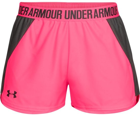 Under Armour Play Up Short 2.0 Sportbroek Dames - Mojo Pink - Maat L