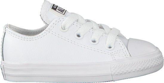 166a13f9c01 bol.com | Converse Meisjes Sneakers Chuck Taylor Ox Kids - Wit - Maat 23