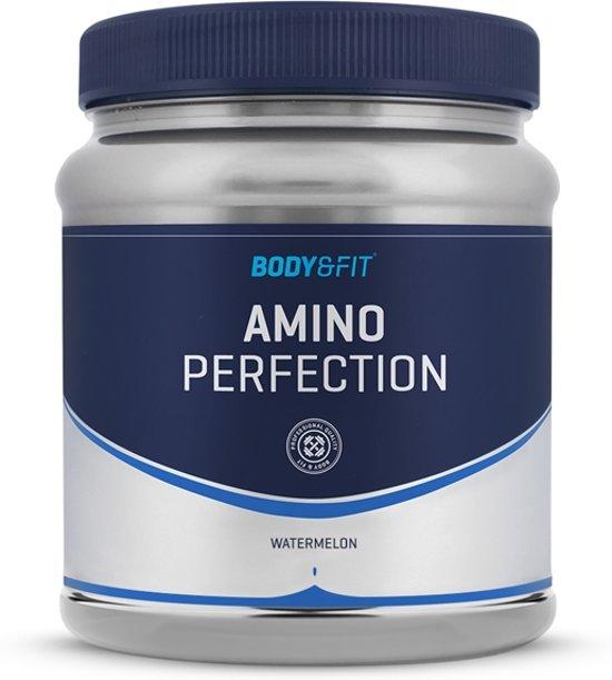 Body & Fit Amino Perfection - BCAA, EAA en Glutamine aminozuren - 380 gram - Watermelon