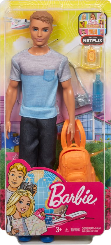 Barbie Travel Ken - Barbiepop