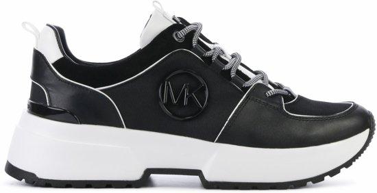f4c98df03 bol.com | Michael Kors Dames Sneakers Cosmo Trainer - Zwart - Maat 39,5