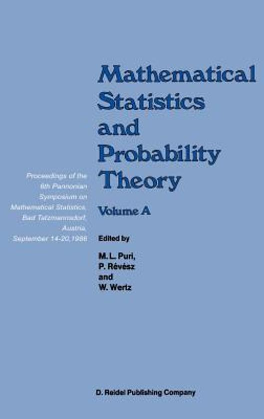 bol com | Mathematical Statistics and Probability Theory