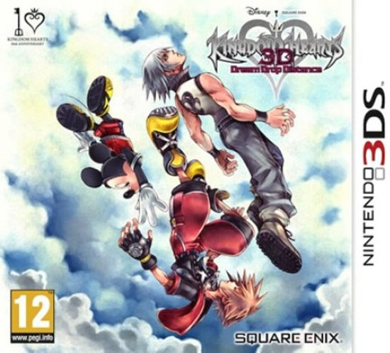 Kingdom Hearts 3D: Dream Drop Distance - 2DS + 3DS