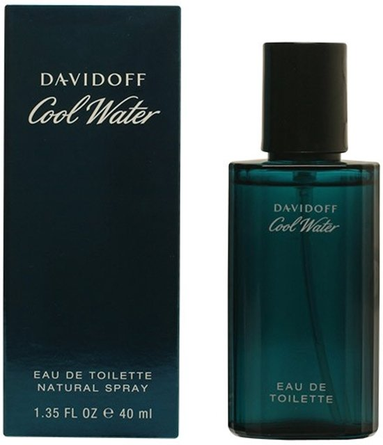 PROMO 2 stuks COOL WATER eau de toilette spray 40 ml