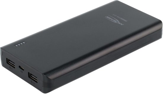 Ansmann portable powerbank 20000mAh 2x USB-A