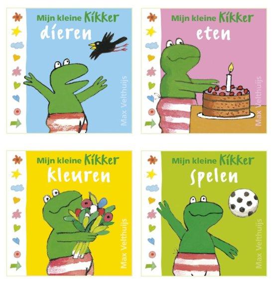 Boek cover Kikker - Mijn kleine Kikker (4 miniboekjes) van Max Velthuijs (Onbekend)