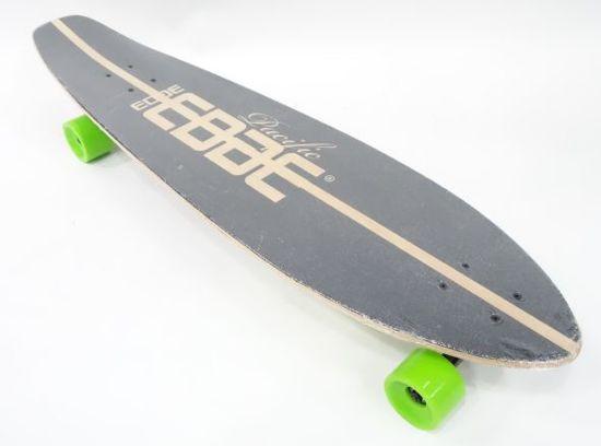 Edge Longboard 99 cm - Black Griptape - Abec-11