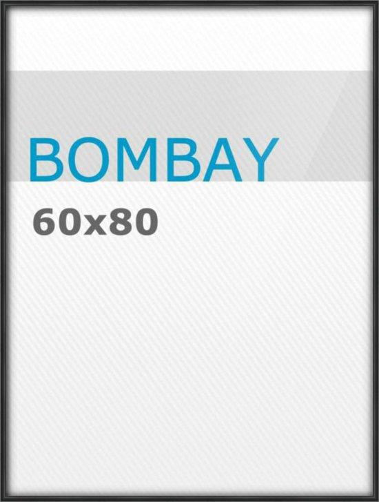 Posterlijsten 60 X 80.Acaza Fotolijst 60x80 Plexi Zwart Kunststof Bombay