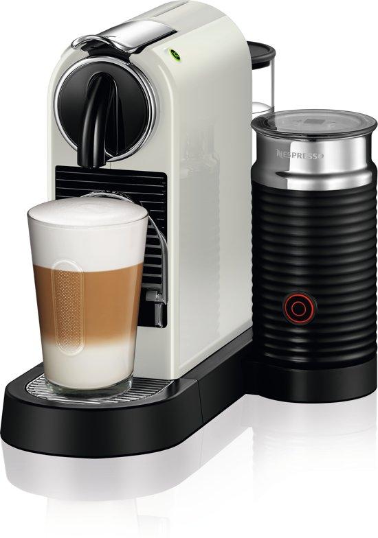 nespresso magimix citiz milk m195 koffiemachine white. Black Bedroom Furniture Sets. Home Design Ideas