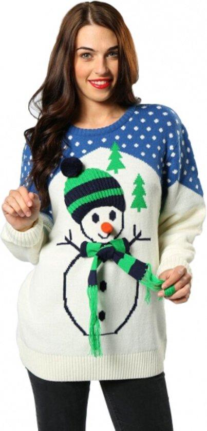 Foute Kersttrui Bol.Bol Com Foute Kersttrui Met Sneeuwpop Voor Volwassenen Xl