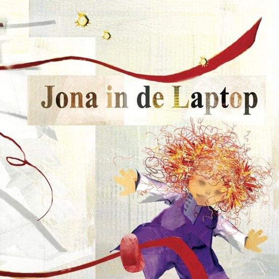 Cover van het boek 'Jona in de laptop' van Shirley Brandeis
