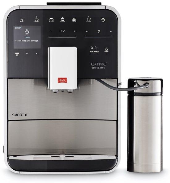 Melitta Barista Smart TS SST  F860-100 - Epressomachine - Zilver/zwart