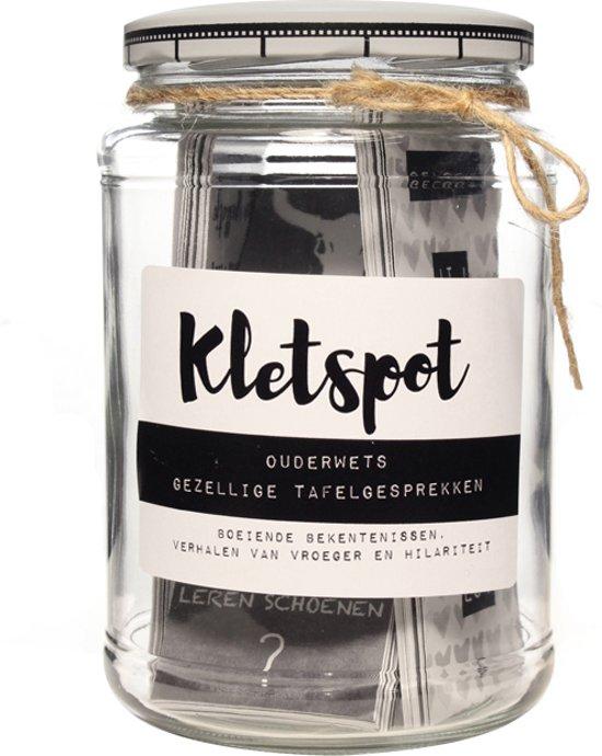 Afbeelding van Kletspot voor een avondje gezelligheid - Kletskaarten - Kletsspel speelgoed