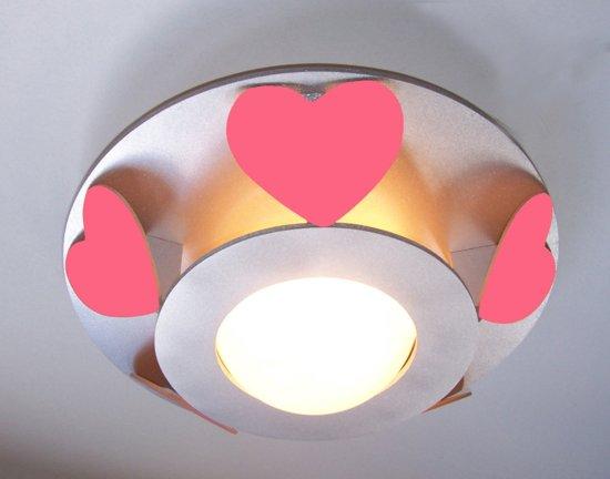 Funnylight Vlinder - Plafonniere - Roze van Funnylight kinderlampen ...