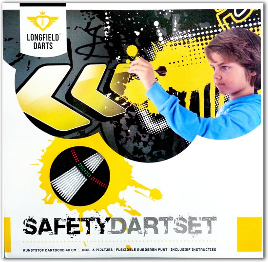 Longfield Darts Safety Dartset - Dartbord
