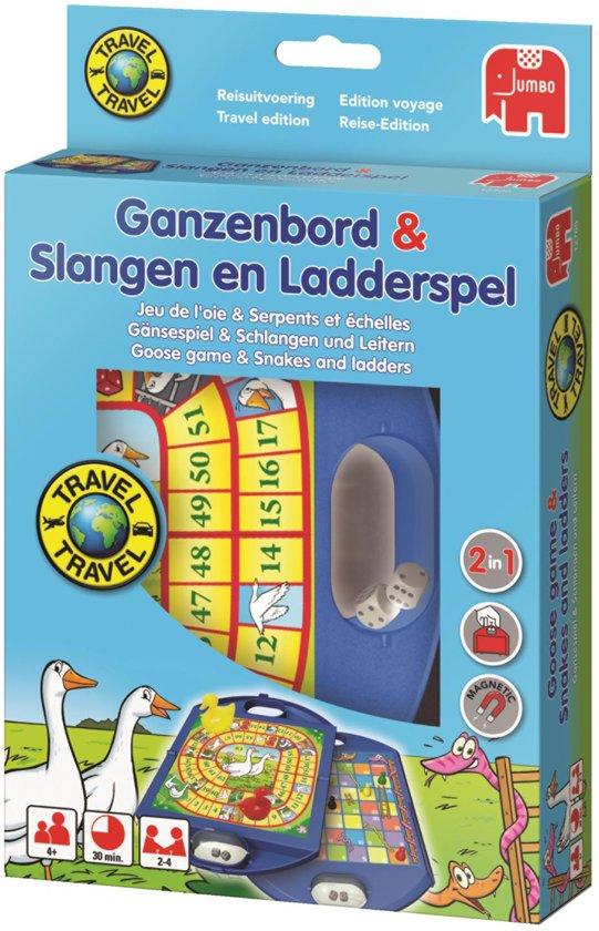 Ganzenbord & Slang en Ladderspel Reiseditie