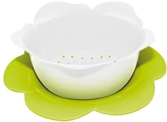 Zak! Designs Vergiet Roos Ø 23 cm - Wit/Groen