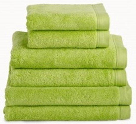 Handdoek 50x100 cm Uni Imperial Luxury Hotelkwaliteit Groen - 6 stuks