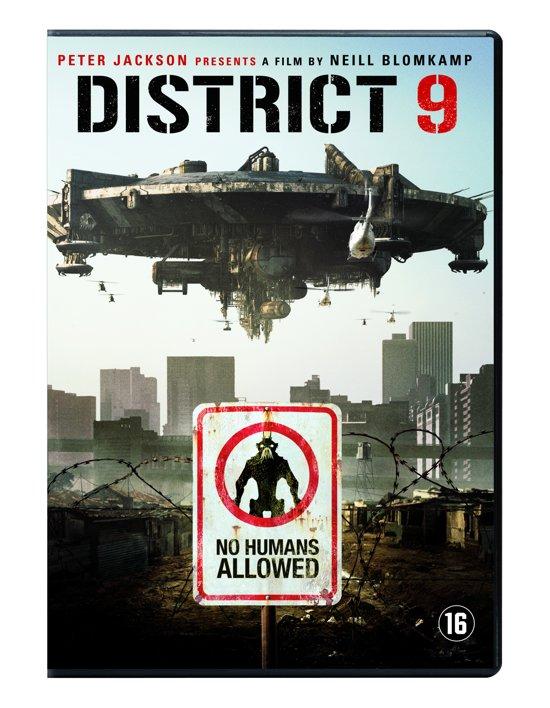 DVD cover van District 9