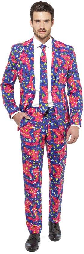 OppoSuits The Fresh Prince - Mannen Zomer Kostuum - Gekleurd - Carnaval - Maat 62