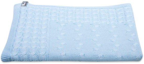 Deken Ledikant Blauw.Baby S Only Deken Ledikant Kabel 135x100 Cm Lichtblauw